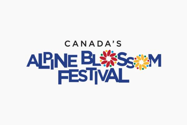 Alpine Blossom Festival Logo by HCD