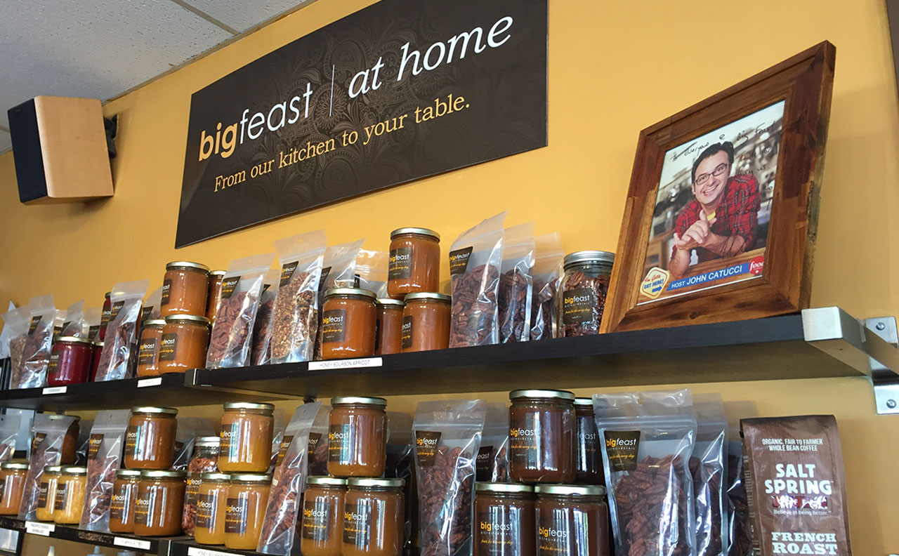Big Feast At Home Signage by HCD