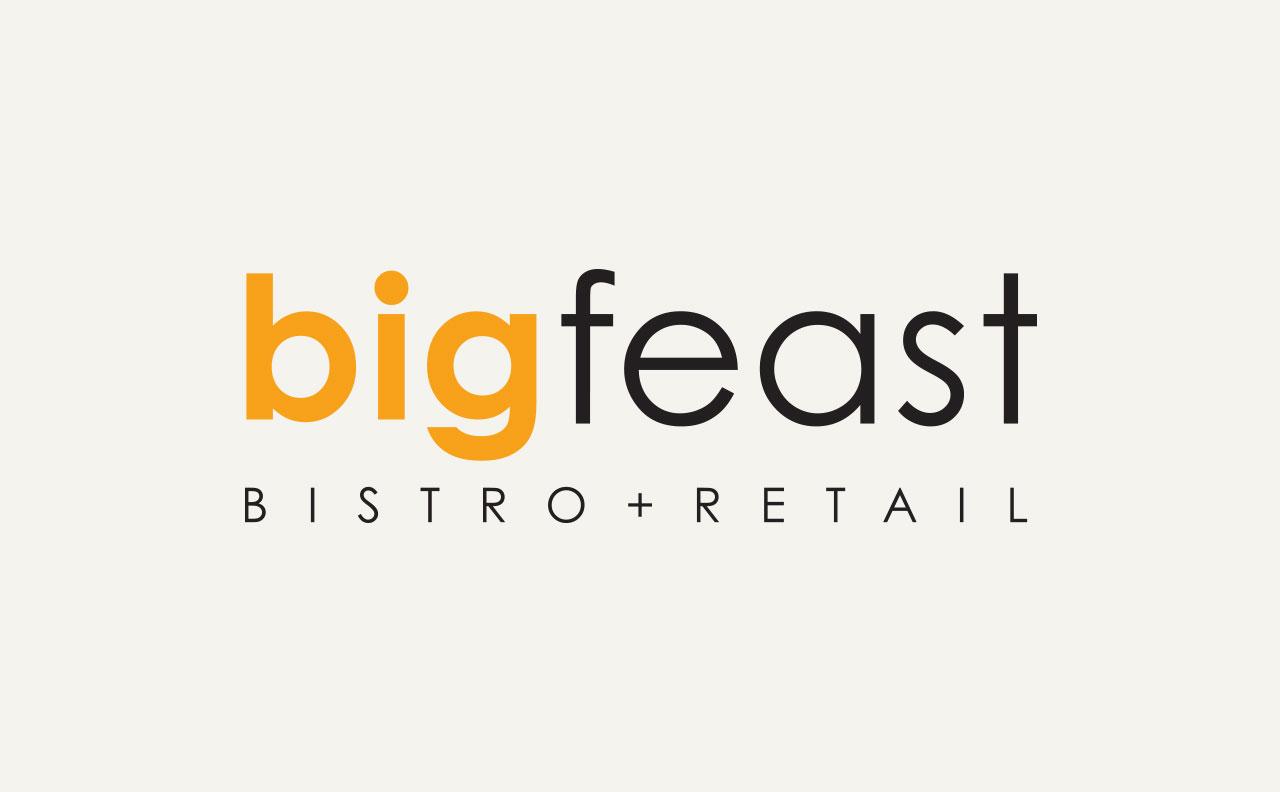 Big Feast Logo by Harv Craven Design