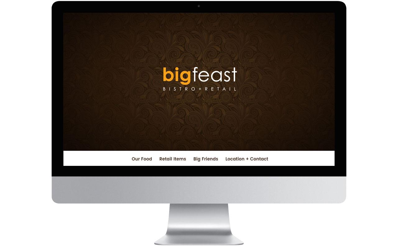 Big Feast Website by HCD