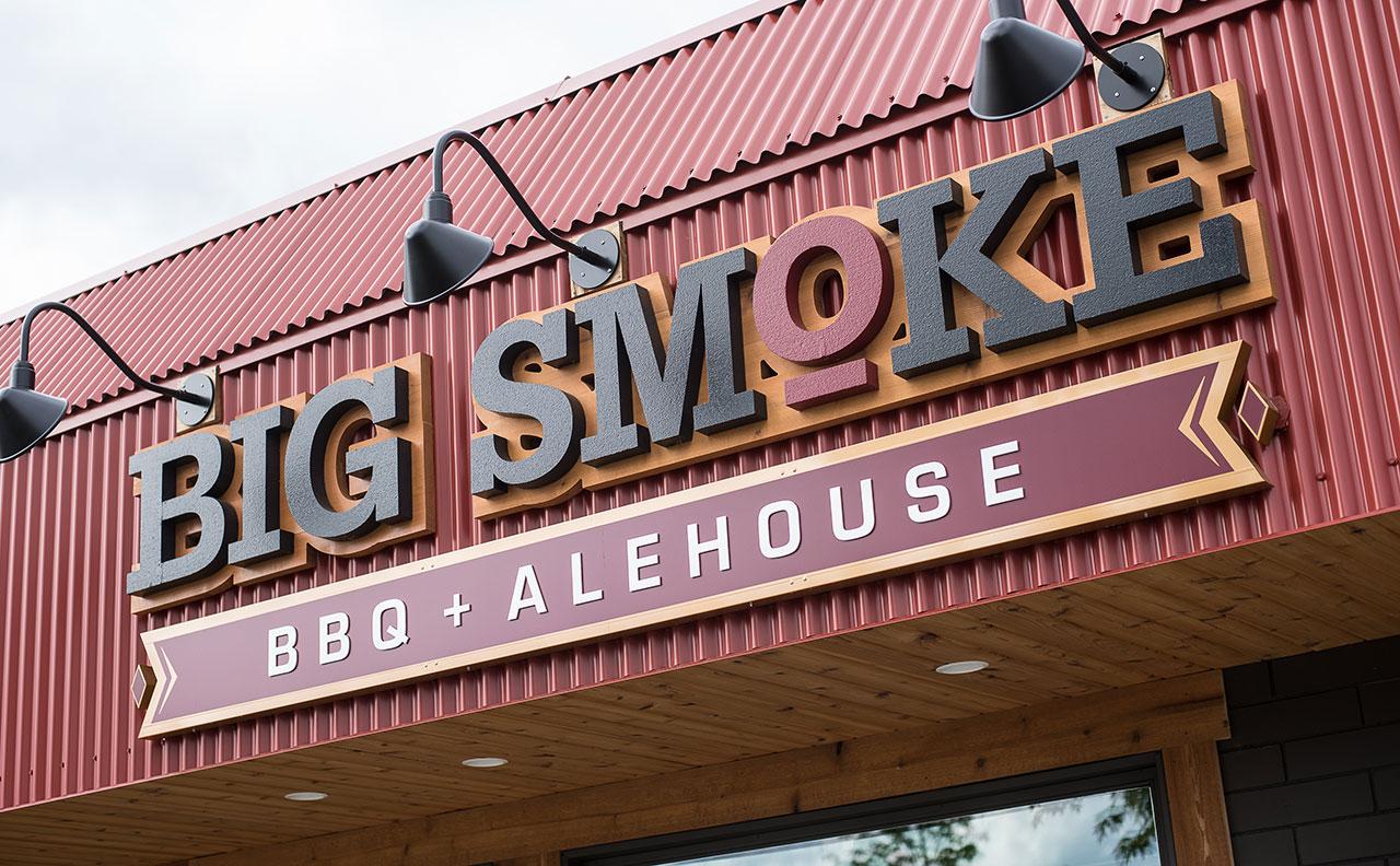 Big Smoke Signage