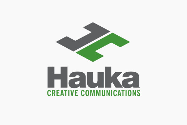 Hauka Creative Communications Logo by HCD