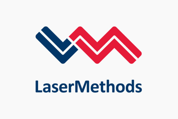 Laser Methods Logo by HCD