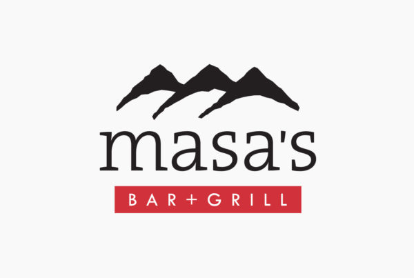 Masas Bar Grill Logo by HCD