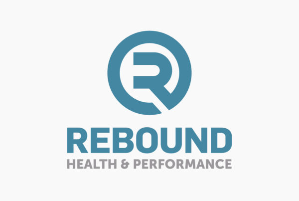 Rebound Health & Performance Logo by HCD