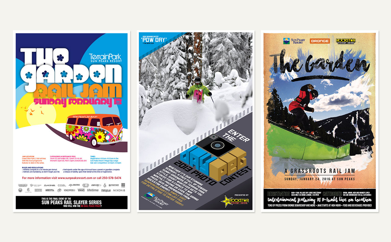 SPRC Terrain Park Posters by HCD
