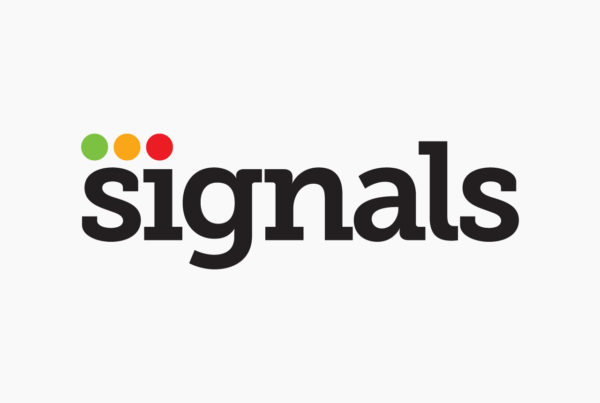 Signals Magazine Logo by Harv Craven Design