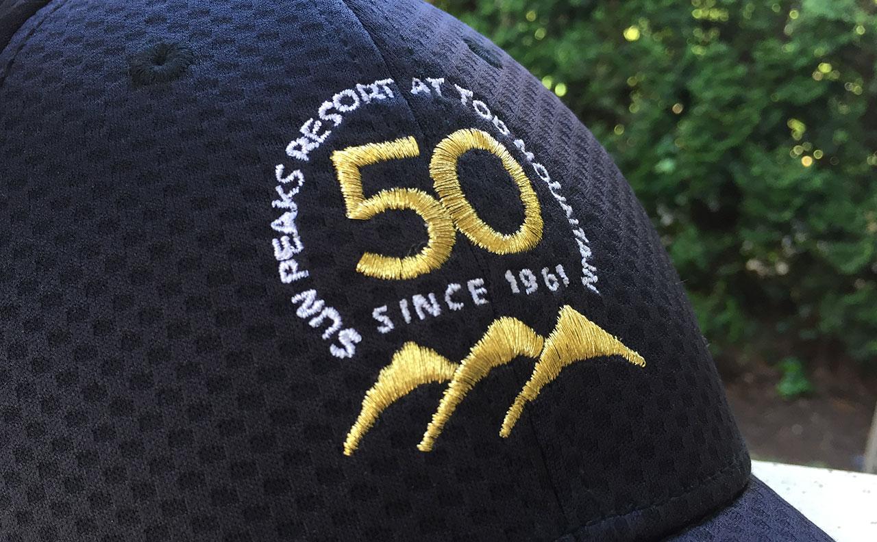 Sun Peaks Resort 50th Logo Cap by HCD