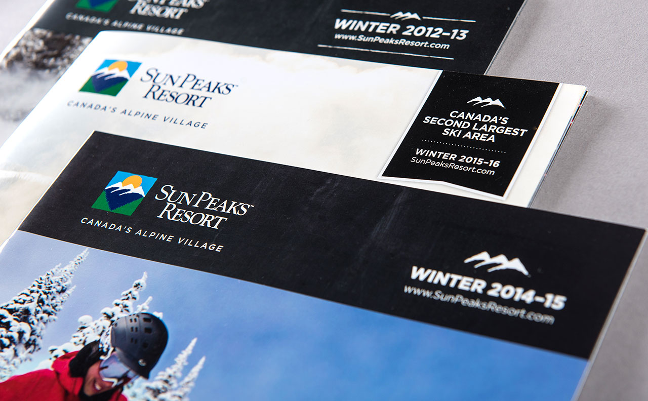 Sun Peaks Resort Winter Brochures by HCD